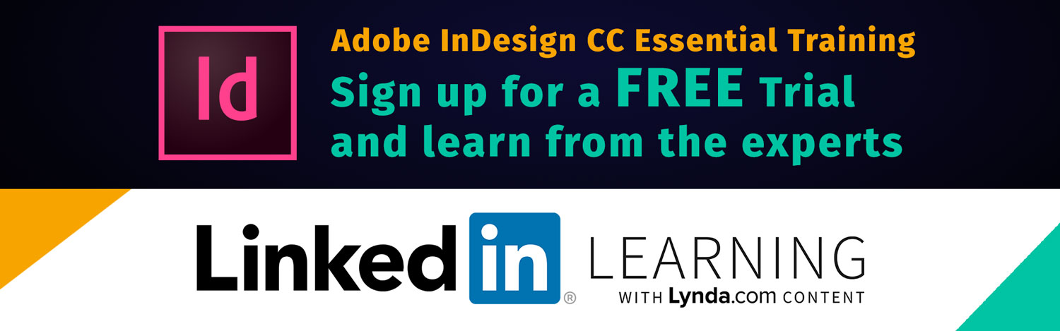 learn adobe indesign online courses tutorials linkedin learning free trial