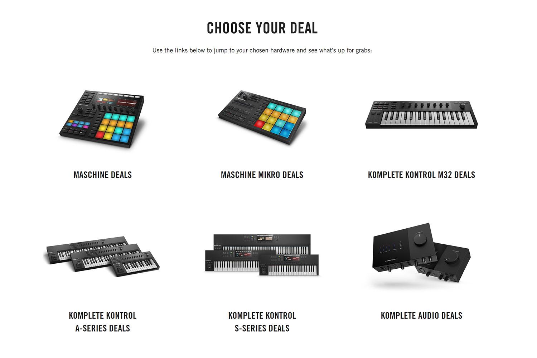 native instruments sale summer of sound hardware software bundles