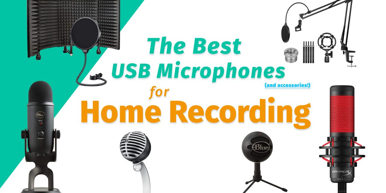 best usb microphones for home recording in 2020