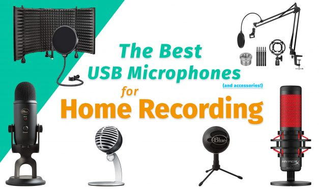 The Best USB Microphones For Home Recording | 2021 Buyers Guide