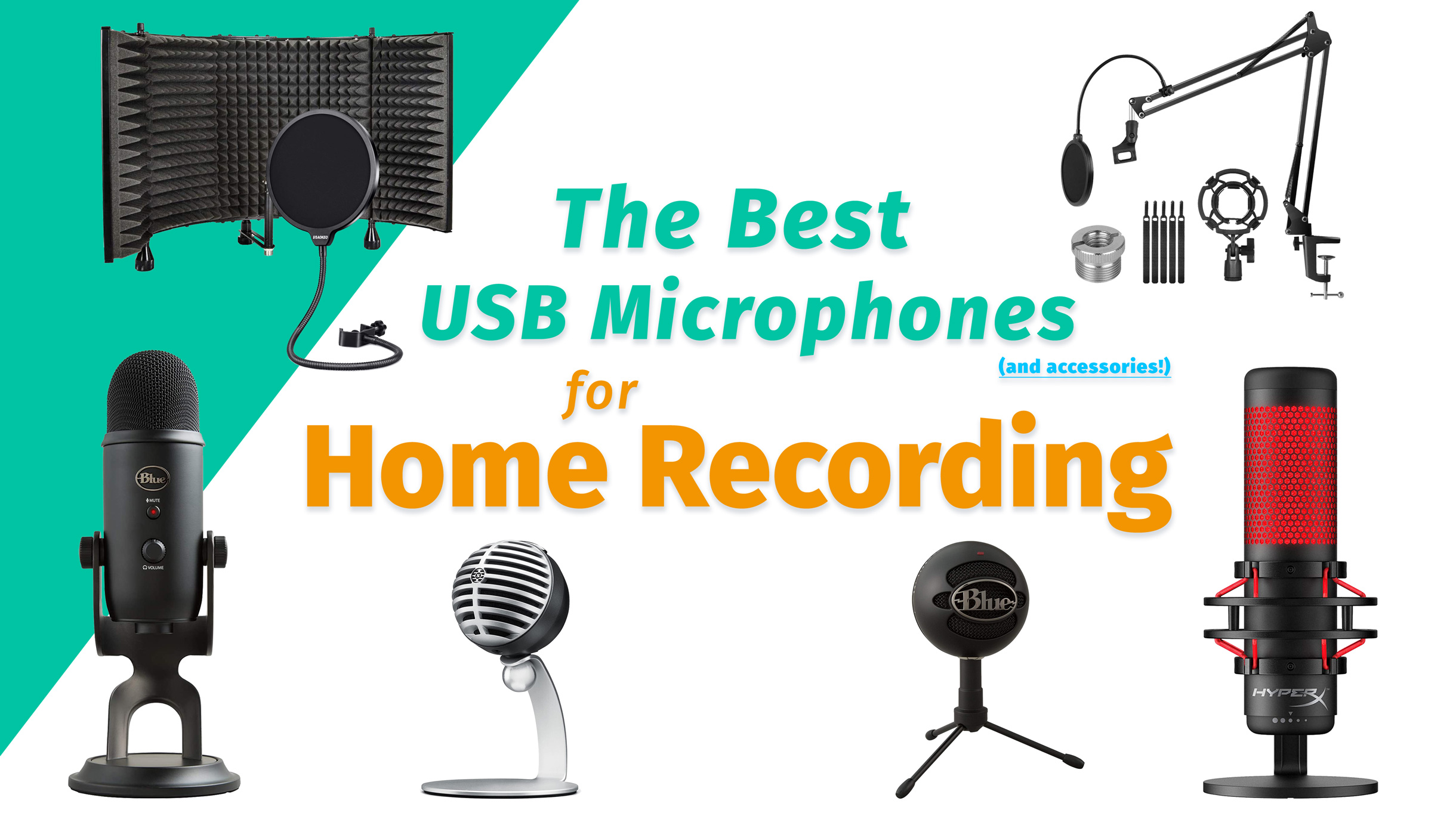 best usb microphones for home recording 2020 buyers guide